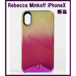 レベッカミンコフ(Rebecca Minkoff)の新品 Rebecca Minkoff グラデーション iPhoneX ケース(iPhoneケース)
