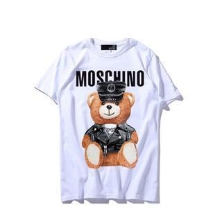 モスキーノ(MOSCHINO)のLOVE MOSCHINO Tシャツ クールな小熊 ロゴ 可愛い プリント XL(Tシャツ(半袖/袖なし))