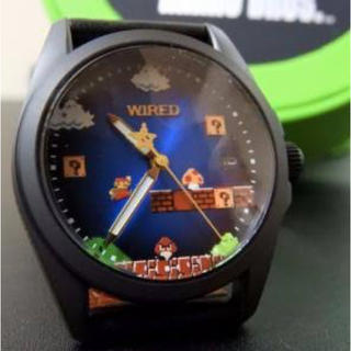 ワイアード(WIRED)のマリオ×WIRED AGAK703 300本限定(腕時計(アナログ))