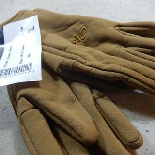 新品!タグつき!サイズXL POLATECフリースグローブ コヨーテ◆米軍◆(手袋)