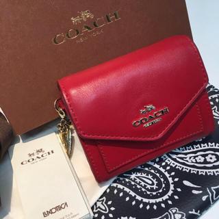 コーチ(COACH)の超美品★COACHコーチミニウォレット ミニ財布(財布)
