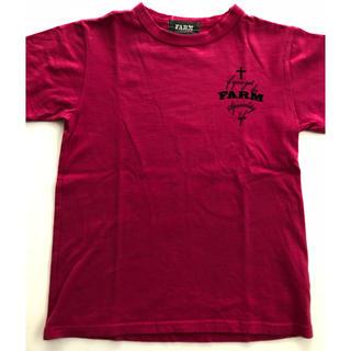 シシュノン(SiShuNon)のFARM ピンクTシャツ 120(Tシャツ/カットソー)