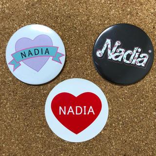 NADIA 缶バッジ ステッカーシール