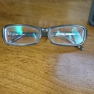 ゾフ(Zoff)の度入り 度付き メガネ 眼鏡 Zoff ゾフ セルフレーム ブラック カーキー(サングラス/メガネ)