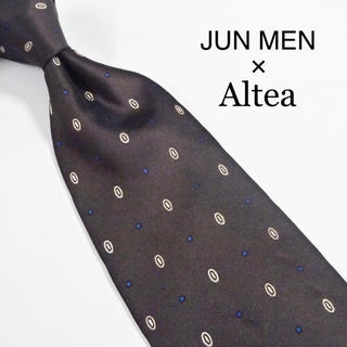 アルテア(ALTEA)の★美品★ JUN MEN × Altea イタリア製 ジュンメン × アルテア(ネクタイ)