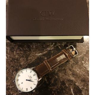 ダニエルウェリントン(Daniel Wellington)の新品 Daniel ダニエルウェリントン 時計 腕時計 レザーベルト(腕時計(アナログ))