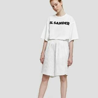 ジルサンダー(Jil Sander)のJil Sander ジルサンダー ロゴtシャツ カットソー(Tシャツ(半袖/袖なし))