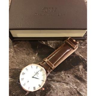 ダニエルウェリントン(Daniel Wellington)の新品 ダニエルウェリントン DW 時計 腕時計 ウォッチ レザー (腕時計(アナログ))