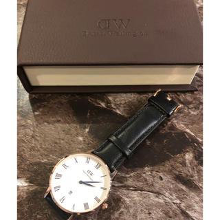 ダニエルウェリントン(Daniel Wellington)の新品 ダニエルウェリントン DW 時計 レザーベルト バングル(腕時計(アナログ))