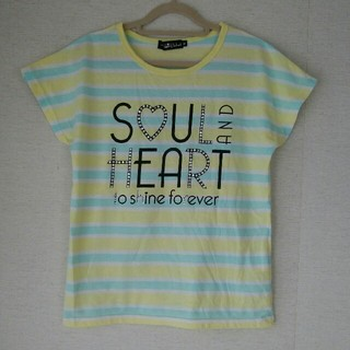 ブルークロス(bluecross)のBLUE CROSS ブルークロス スパイシーレーベル Tシャツ スパンコール(Tシャツ/カットソー)