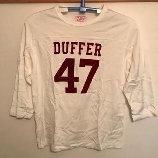 ザダファーオブセントジョージ(The DUFFER of ST.GEORGE)のThe DUFFER of St.GEORGE (ダファー) カットソー L(Tシャツ/カットソー(七分/長袖))