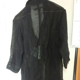 シュリセル(SCHLUSSEL)のシュリセルリネン7分丈ロングシャツ(Tシャツ/カットソー(七分/長袖))