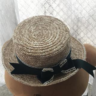 アリスアンドザパイレーツ(ALICE and the PIRATES)のアリスアンドザパイレーツ  カンカン帽(麦わら帽子/ストローハット)
