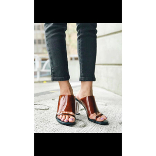 スライ(SLY)のSLY clear heel sandal (サンダル)