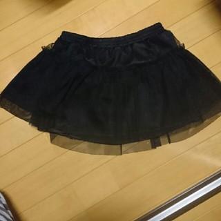 ジーユー(GU)のチュールスカート 120【g.u】(スカート)