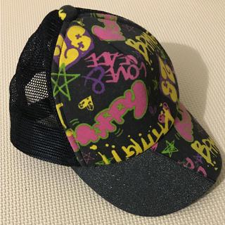 オレンジボンボン(Orange bonbon)のカラフル メッシュキャップ 野球帽(帽子)