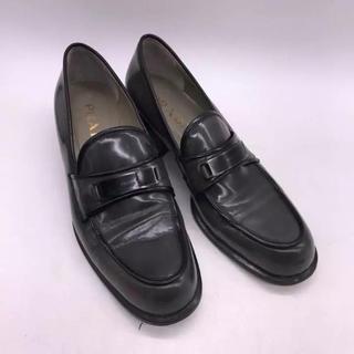 プラダ(PRADA)の美品PRADA レザーローファー プラダ (ローファー/革靴)