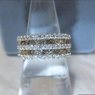 * プリンセスカットダイヤモンド リング 1.60ct(リング(指輪))