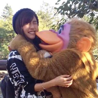 ディズニー(Disney)の真野恵里菜ちゃん着用♥パニカムミッキーブルゾン(ブルゾン)