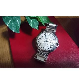 カルティエ(Cartier)の CARTIER 42MM~カルティエ バロンブルー中古(金属ベルト)