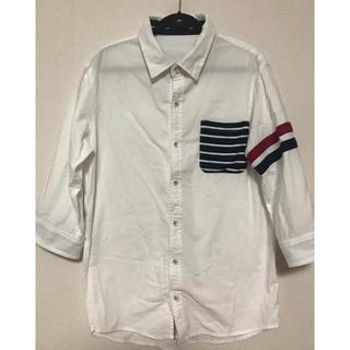シマムラ(しまむら)の七分袖☆デザイニングシャツ(シャツ)