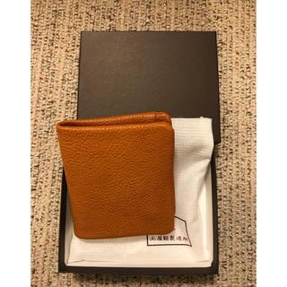 ツチヤカバンセイゾウジョ(土屋鞄製造所)の新品 土屋鞄 トーンオイルヌメ 二つ折り財布 レザー ミニ財布(折り財布)