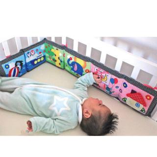 ベッドガード ベビー 知育玩具 おもちゃ 赤ちゃんガード 布おもちゃ 赤ちゃん(知育玩具)