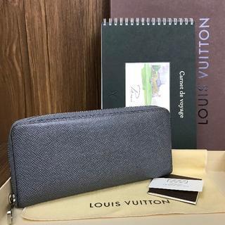 ルイヴィトン(LOUIS VUITTON)の美品❤保証書付き❤タイガ❤ヴェルティカル❤ルイヴィトン❤長財布❤v851(財布)