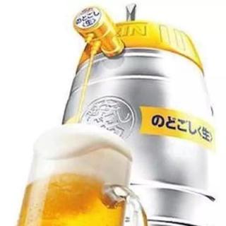 キリン(キリン)の送料込み 樽型ビールサーバー 未使用品(アルコールグッズ)