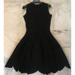 美品 MCQ アレキサンダーマックイーン ワンピース ドレス ノースリーブ 黒