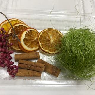 ハーバリウム✴︎花材  ドライフルーツなど(ドライフラワー)