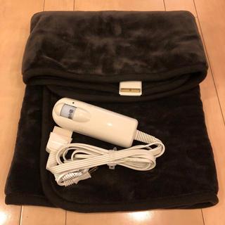 ムジルシリョウヒン(MUJI (無印良品))の無印良品  電気ひざ掛け(電気毛布)