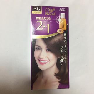 ウエラ(WELLA)のウエラ キキララ様専用 5G 2箱(白髪染め)