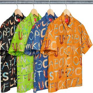 シュプリーム(Supreme)のSupreme Alphabet Silk Shirt(シャツ)