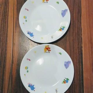 コレール(CORELLE)のコレール  ディズニー  ぷーさんのお皿  二枚(食器)