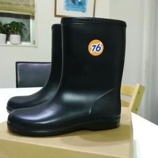 セブンティーシックスルブリカンツ(76 Lubricants)の76キッズレインシューズ ブラック 22センチ(長靴/レインシューズ)