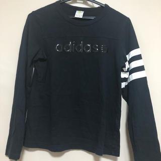 アディダス(adidas)のadidas 袖ライン長袖Tシャツ(Tシャツ(長袖/七分))