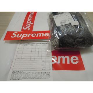 シュプリーム(Supreme)のSupreme Snakeskin Flyweight Duffle Bag 黒(ドラムバッグ)