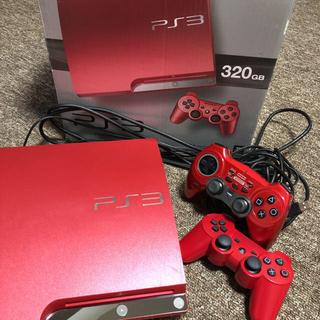 PlayStation - PlayStation3  320GB スカーレット・レッド