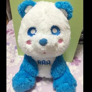 AAA - え〜パンダ ぬいぐるみ 青