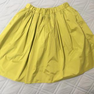 バビロン(BABYLONE)のイエローグリーンスカート(ひざ丈スカート)