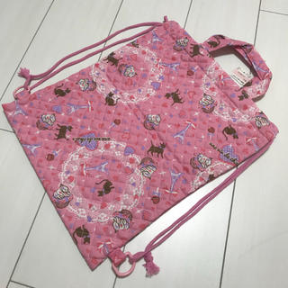 シマムラ(しまむら)の新品 リュックサック 巾着バッグ  女の子 保育園(リュックサック)