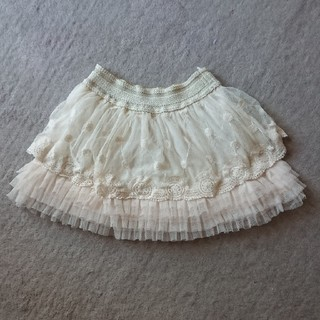 ガヤ(GAYA)のフリルレーススカート☆120(スカート)