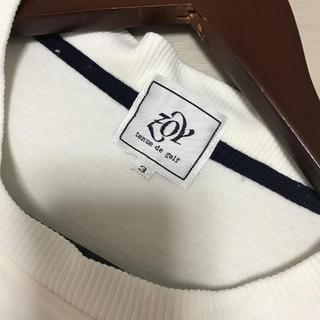 ゾーイ(ZOY)のZOY tenue de golf ゾーイ ロゴ スエット トレーナー  メンズ(ウエア)