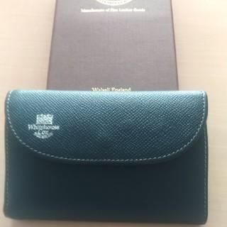 ホワイトハウスコックス(WHITEHOUSE COX)のホワイトハウスコックス ロンドンカーフレザー 三つ折り財布(折り財布)