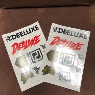 【新品未使用】DEELUXE ディーラックス ステッカー 2枚