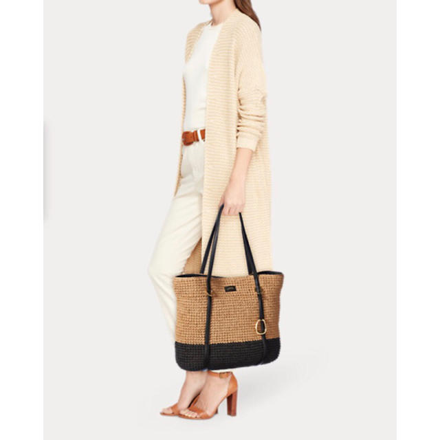 Ralph Lauren(ラルフローレン)の【新品未使用】ラルフローレン 2018SS 新作 かごバッグ レディースのバッグ(かごバッグ/ストローバッグ)の商品写真
