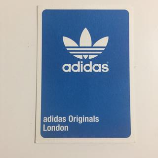 アディダス(adidas)のロンドンのショップ掲載ポストカード!(切手/官製はがき)