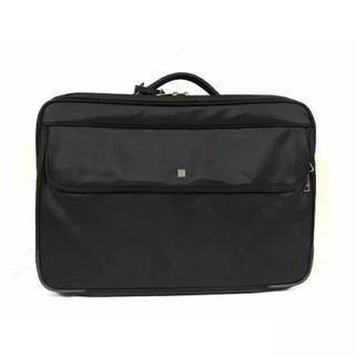 アイグナー(AIGNER)の極美品本物アイグナー2wayショルダーアタッシュケースバッグビジネスバック黒旅行(ビジネスバッグ)