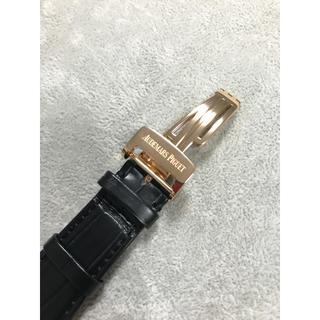 オーデマピゲ(AUDEMARS PIGUET)の新品正規AP ロイヤルオーク 15400OR クロコ18Kバックル(腕時計(アナログ))